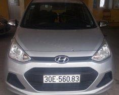Cần bán lại xe Hyundai Grand i10 sản xuất 2016, màu bạc, xe nhập chính chủ giá 325 triệu tại Hà Nội