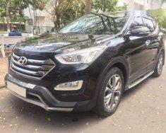 Bán xe Hyundai Santa Fe 2.4AT năm 2014, màu đen, nhập khẩu giá 910 triệu tại Tp.HCM