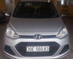 Chính chủ bán xe Hyundai Grand i10 đời 2016, màu bạc, nhập khẩu giá 325 triệu tại Hà Nội