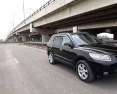 Bán ô tô Hyundai Santa Fe MLX đời 2009, màu đen giá 540 triệu tại Hà Nội
