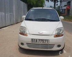 Cần bán Chevrolet Spark 2008, màu trắng xe gia đình, giá chỉ 195 triệu giá 195 triệu tại Hà Nội