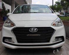 Cần bán Hyundai Grand i10 1.0 MT 2018, màu trắng giá 390 triệu tại Tp.HCM