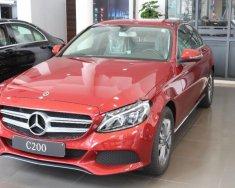 Cần bán xe Mercedes C200 2018, màu đỏ giá 1 tỷ 489 tr tại Hà Nội