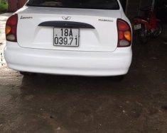 Bán xe Daewoo Lanos sản xuất 2002, màu trắng, nhập khẩu giá 90 triệu tại Bắc Giang