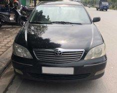 Bán Toyota Camry 2.4 MT 2003, màu đen, nhập khẩu nguyên chiếc số sàn giá 320 triệu tại Hà Nội