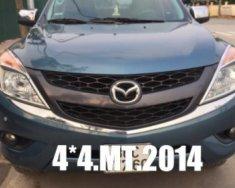 Bán ô tô Mazda BT 50 2.2L MT đời 2014, màu xanh lam  giá 485 triệu tại Hà Nội