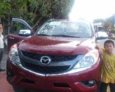 Bán Mazda BT 50 năm 2014, màu đỏ, nhập khẩu nguyên chiếc giá 570 triệu tại Kon Tum