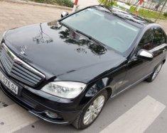 Cần bán lại xe Mercedes 1.8 AT 2008, màu đen giá 456 triệu tại Hà Nội