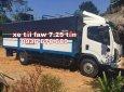 Đại lý bán xe tải Faw 7,25 tấn thùng dài 6m3, động cơ yuchai 140PS cực khỏe, giá ưu đãi