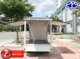 Bán xe tải nhẹ Dongben 870kg thùng cánh dơi bán hàng lưu động