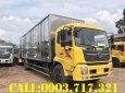 Gía bán xe tải DongFeng B180 thùng kín thùng 9m7 tốt nhất khu vực phía Nam