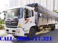Bán xe tải Dongfeng thùng dài 9m5, công ty bán xe tải dongfeng thùng dài 9m5