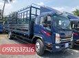Xe tải JAC N800 thung bạt INOX 8 tấn thùng dài 7M6