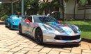 """""""Hô biến"""" Chevrolet Corvette C7 có cửa Lamborghini tại Việt Nam"""