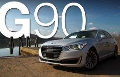 Đánh giá xe Genesis G90 2017: Mẫu sedan hạng sang cỡ lớn hoàn hảo