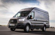 Ford Transit mới có khả năng tránh gió