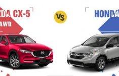 So sánh thông số kỹ thuật xe Mazda CX-5 2018 và Honda CR-V 2018 tại Việt Nam