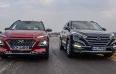 Chênh 50 triệu đồng, chọn Hyundai Kona 1.6 hay Hyundai Tucson 2.0?