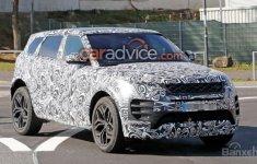 Lộ diện hình ảnh nội thất mẫu xe Range Rover Evoque 2019