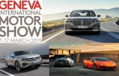 """Điểm nhanh loạt """"ngôi sao"""" tại Geneva Motor Show 2019"""