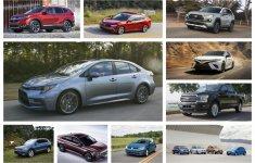 Top 10 ô tô bán chạy nhất thế giới năm 2019