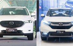Nên mua Mazda CX-5 hay Honda CR-V?