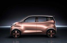 Nissan sắp trình làng mẫu xe đô thị IMK Concept tại quê nhà