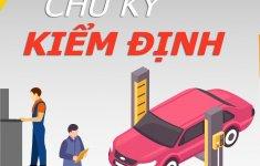 Chu kỳ đăng kiểm các loại ô tô