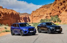BMW X5 và X6 đồng loạt ra mắt phiên bản M với động cơ vượt trội