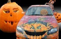 'Choáng' với dàn xe Halloween kinh dị đi trên phố trên khắp thế giới