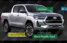Toyota Hilux 2021 đổi lịch chào sân