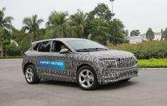 Mẫu xe điện đầu tiên của thương hiệu xe Việt lộ hình ảnh chạy thử