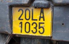 Từ 1/8, xe kinh doanh vận tải sẽ mang biển số màu vàng