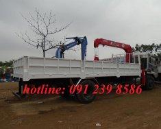 Xe tải Trường Giang gắn cẩu, xe tải Dongfeng gắn cẩu UNIC 5 tấn, xe tải cẩu Dongfeng giá 1 tỷ 290 tr tại Hà Nội