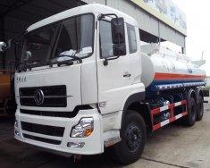 Bán xe chở xăng dầu DongFeng 16m3, loại 6x4-3 khoảng độc lập chỉ hơn tỷ giá 1 tỷ 260 tr tại Hà Nội