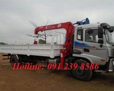 Xe tải Cửu Long gắn cẩu Unic 5 tấn, 4 đốt giá 1 tỷ 300 tr tại Hà Nội