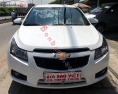 Bán Chevrolet Cruze 1.6 LS đời 2014, màu trắng chính chủ, giá tốt giá 475 triệu tại Tp.HCM