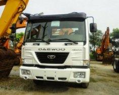 Xe Tải Daewoo 3 chân gắn cẩu 8 tấn đã qua sử dụng, xe tải cũ giá 1 tỷ 250 tr tại Tp.HCM