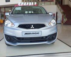 Mitsubishi Mirage MT Facelift model 2017, màu bạc, khuyến mại lớn, nhập khẩu nguyên chiếc, giá cạnh tranh giá 411 triệu tại Hà Nội