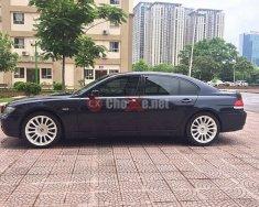 Bán xe BMW 7 750 Li đời 2005, màu đen, nhập khẩu nguyên chiếc, giá cạnh tranh giá 820 triệu tại Hà Nội