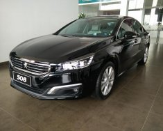 Peugeot Quảng Ninh bán xe Pháp Peugeot 508 đen, xe Châu Âu nhập khẩu mới 100% giá 1 tỷ 379 tr tại Hải Phòng