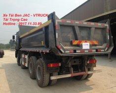 Xe tải Ben JAC 4 chân tải trọng cao giá 1 tỷ 650 tr tại Tp.HCM