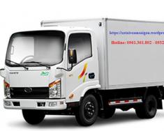 Xe tải veam 2 tấn 4 vào được thành phố ban ngày giá rẻ giao ngay giá 363 triệu tại Tp.HCM