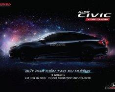 Honda Biên Hoà bán Honda Civic 1.5 Turbo đời 2018, màu đen, xe nhập, giá tốt gọi Mr. Mẫn 0908.438.214 giá 898 triệu tại Đồng Nai