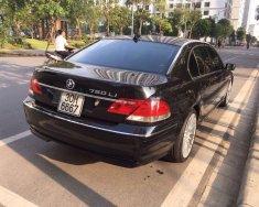 Bán ô tô BMW 7 Series 750Li đời 2005, màu đen, nhập khẩu nguyên chiếc số tự động giá 750 triệu tại Hà Nội