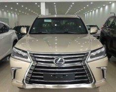 Bán xe Lexus LX 570 Luxury đời 2016, màu vàng giá 6 tỷ 750 tr tại Hà Nội