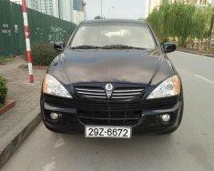 Bán xe Ssangyong Kyron MT 4+4 đời 2007, màu đen, nhập khẩu, giá 360tr giá 350 triệu tại Hà Nội