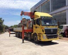 Xe tải 5 chân gác cẩu 15 tấn, cẩu 15 tấn Kanglim Hàn Quốc mới 100%, giao xe ngay giá 2 tỷ 700 tr tại Hà Nội