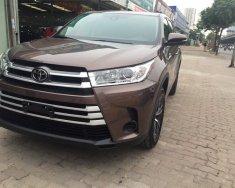 Bán xe Toyota Highlander Le sản xuất 2017, màu nâu, xe nhập giá 2 tỷ 555 tr tại Hà Nội