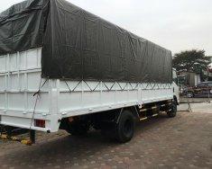 Bán xe tải Isuzu 6.2 tấn thùng mui bạt bửng nhôm, giao ngay giá 810 triệu tại Tp.HCM